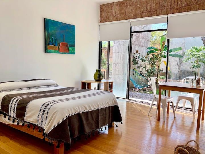 Hermosa habitación cto 2 Casa Tezontle, Juriquilla