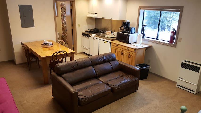 Barn Condo/Apt - 2nd floor unit- Tamarack Lodge - Bear Valley - Appartement