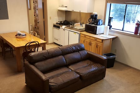 Barn Condo/Apt - 2nd floor unit- Tamarack Lodge - Bear Valley - Wohnung