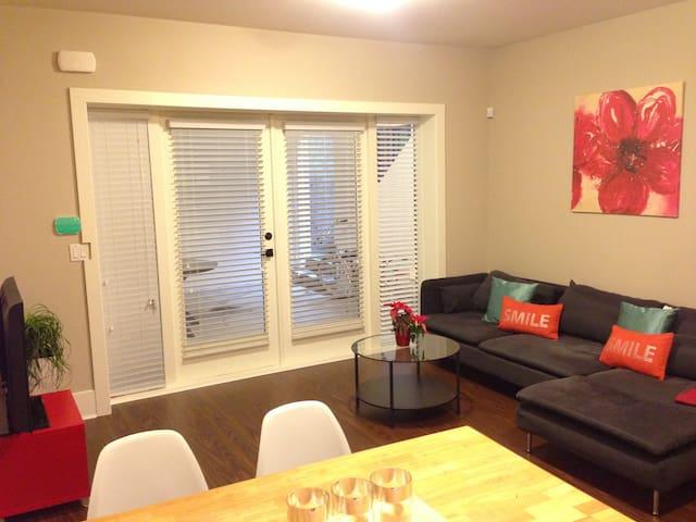 Livingroom with modern furnishing
