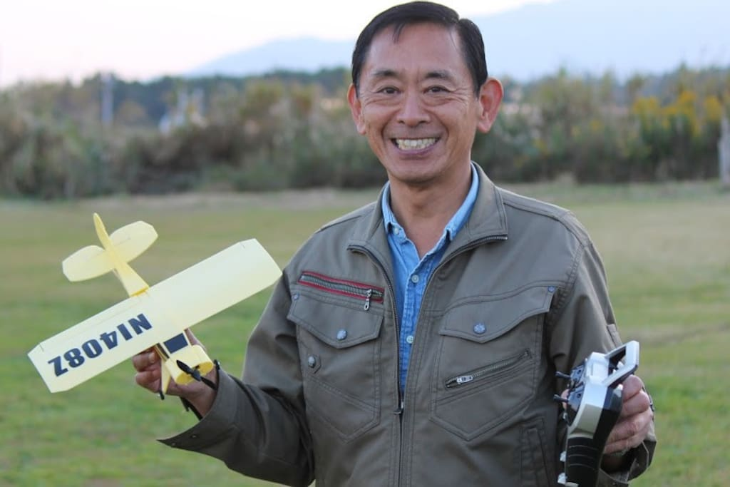 Hello.  I am Keiichirou Iwaki. I have a lot of hobbies, Paragliding,Flying R/C planes, Magic.