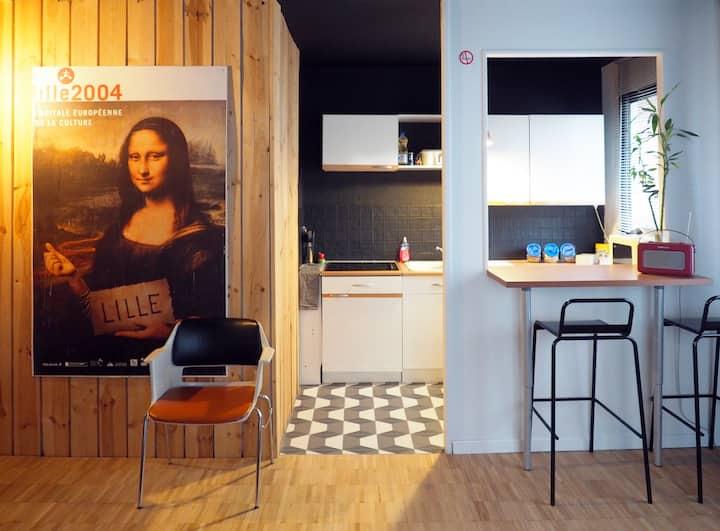 Appartement Lille-Centre - République Beaux-Arts