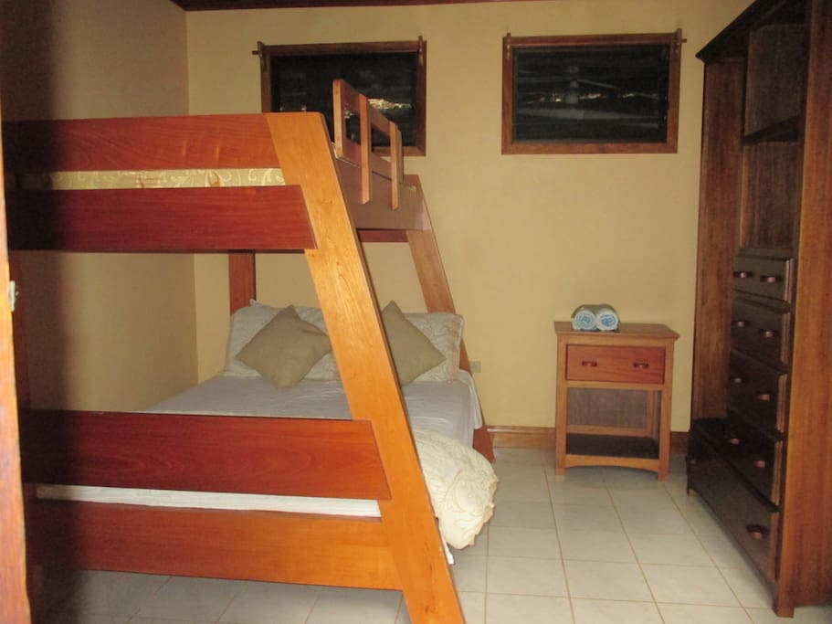 Bedroom at our Eco Lodge