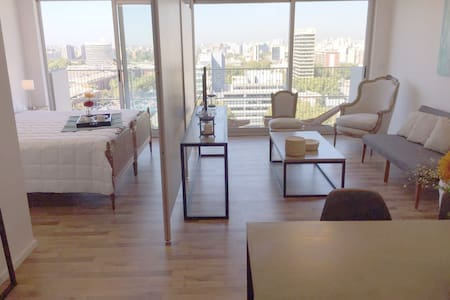 Classy Apart great view w/pool, 13th floor - Buenos Aires