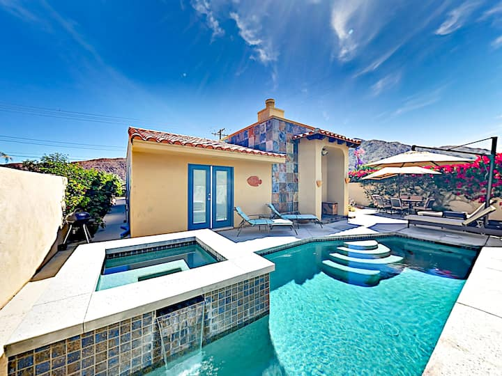 Mountain-View Retreat | Pool & Hot Tub 2BR #102407