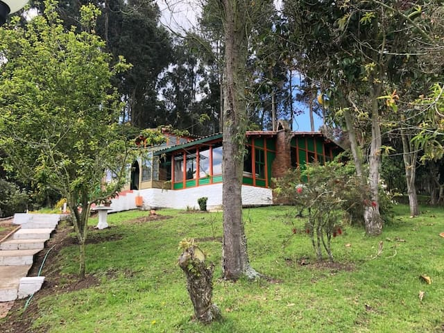 Relájate y descansa en Casa Campestre Casa Madero