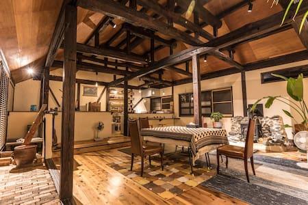 Niyodo river house YANANOSE 高知県いの町