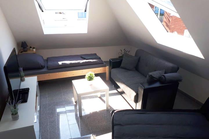 KL06 komfortable Wohnung im Herzen von Kleve mit Badewanne und gratis W-LAN