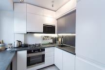 Гостиная_кухонная зона/ living room_kitchen