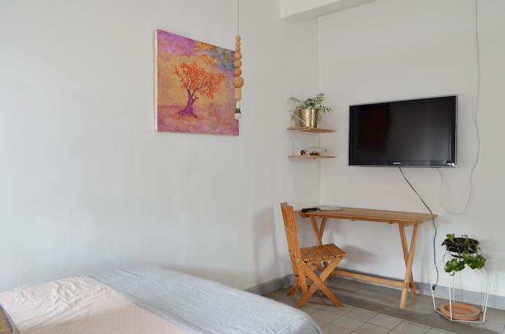 Loft con Jardin y Terraza