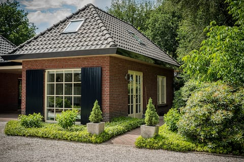 The cottage with the blue shutters, near the Veluwe.