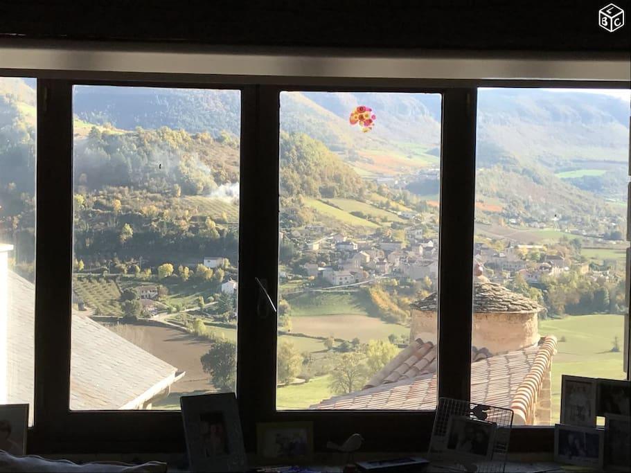 Vue panoramique depuis la Maison
