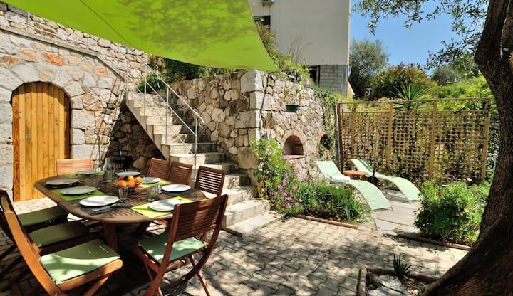 Appartement 4 pièces dans villa sur la Côte d'Azur