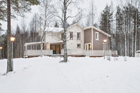 Beautiful villa next to lake and forest - Marraskoski