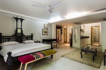 Studio Appt with abundance of space & comfort - New Delhi - Apartment