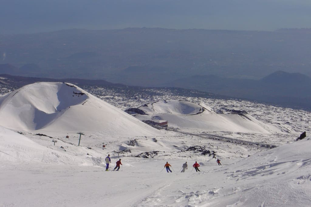 a 19 km dall'Etna