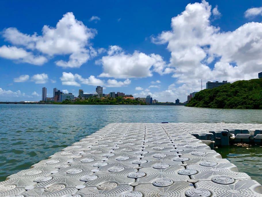 Vista do Pier mais charmoso da cidade...