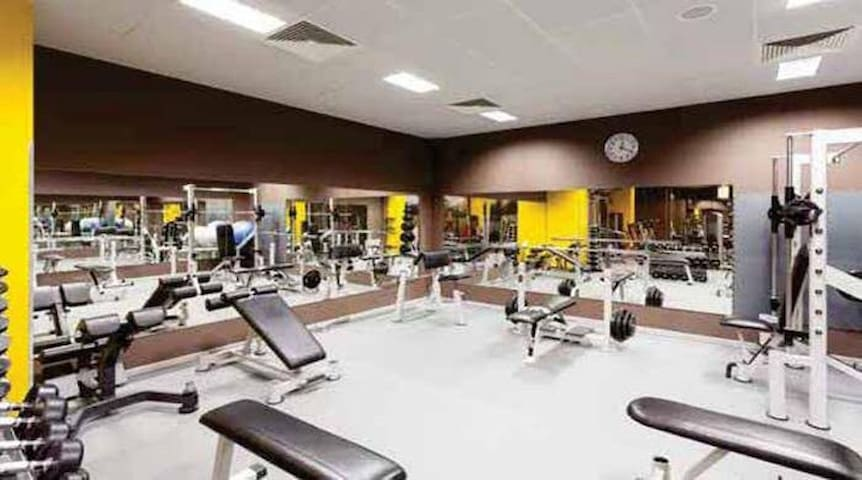 Large fully equipped gym at the clubhouse  Clubhouse can be used at a nominal charge of Rs 100/visit