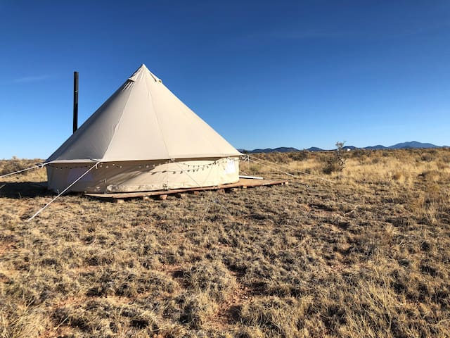 Grand Canyon Yurt Camping and Stargazing!