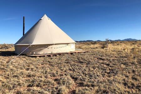 Grand Canyon Yurt Camping and Stargazing!