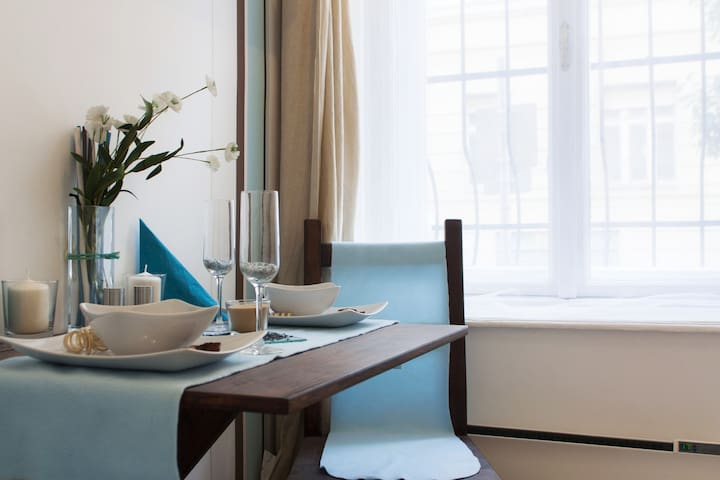 Friendly and sunlit apartment close to the center