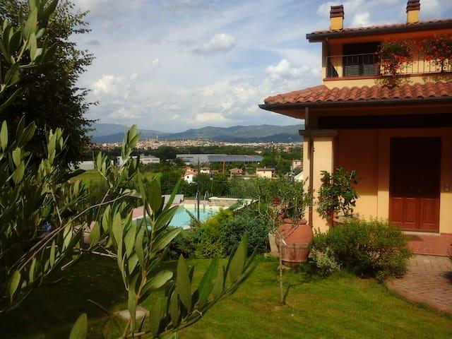Casa Belvedere - piscina panoramica - doppia - Arezzo - Villa