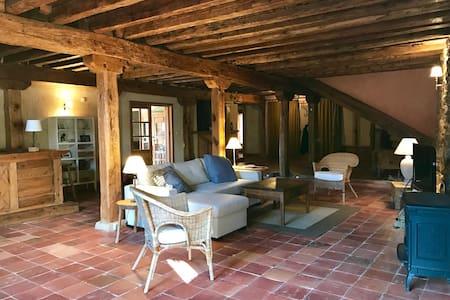 Dream loft with garden 2p, Sotosalbos 17km Segovia - Sotosalbos