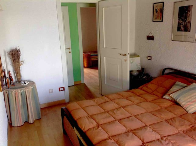 Double bed on the first floor