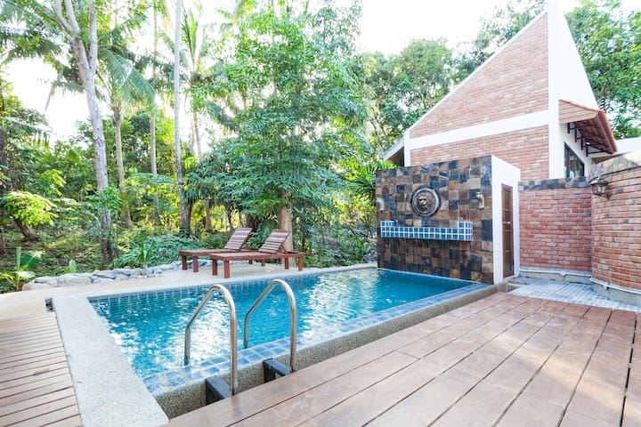 2 Bed Room Bang Pae Villa with pool - Pa Klok
