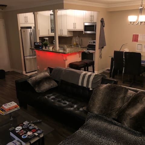 Modern apartment close to airport and downtown