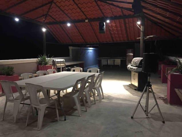 Alberca PRIVADA/cenote/20min aeropuerto/terraza