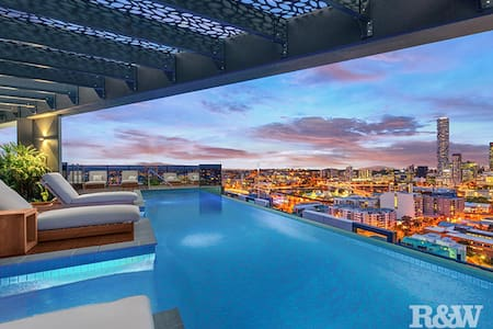 This is luxury living within 1KM from the CBD - South Brisbane - Appartement