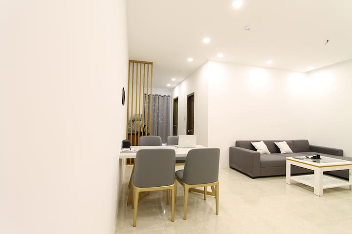 Baymax Home. Muong Thanh Apartment 2BR Riverview