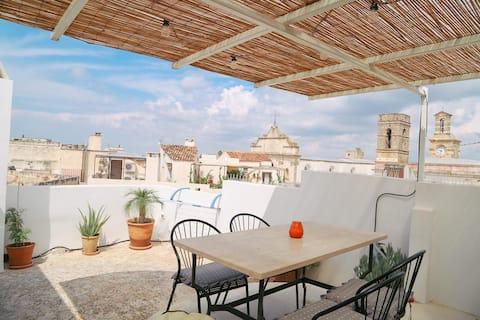 Okouzlující dům s panoramatickou terasou