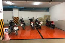 Car Park for Motorcycle
