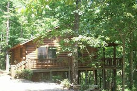 Mountain Log Cabin w/Private Hot Tub!