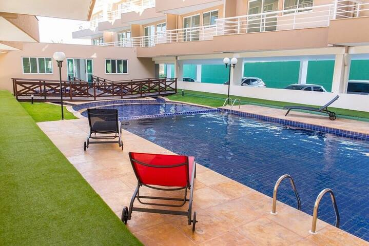 Apartamento no Cumbuco CE. Beach Place 208