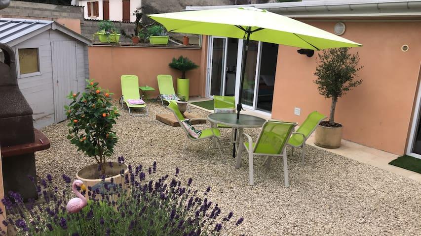 LOFT avec espace extérieur indépendant