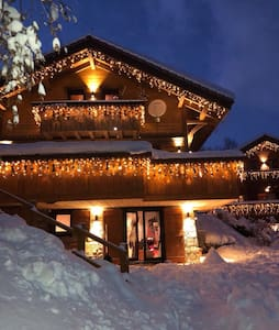 Meribel Les Allues Ski Chalet with beautiful views
