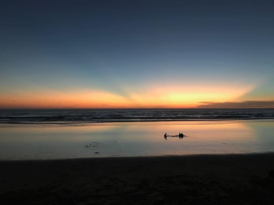 Playa Grande sunset