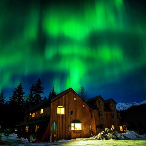 Northern Lights Room @ the Funny Farm AK - Haines