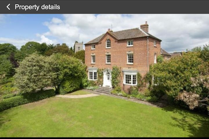 Large country house -Double room - Hopton Wafers - House