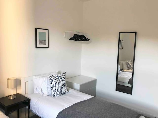 New - Bristol base with 4 single beds!
