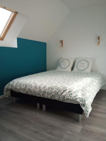 première chambre  doux rêves bleu