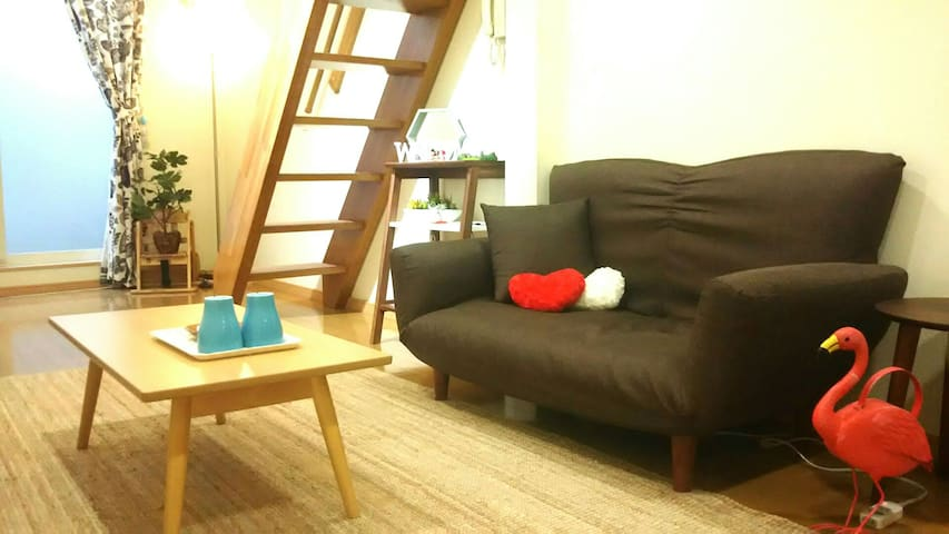 20min SHINJYUKU/loft flat/ Easy access to the city