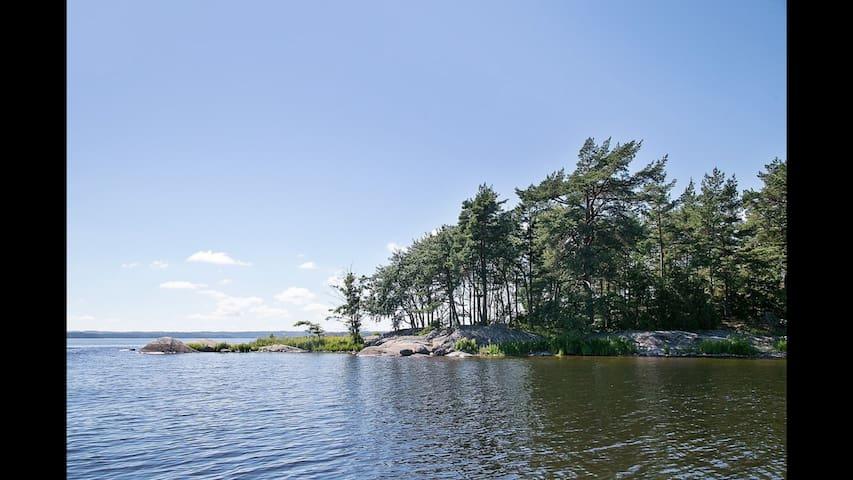 H2O Asphyxia, island of fun rehab! - Alingsås - 一軒家