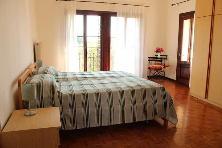 Due stanze spaziose in Villa Patrizia ad Asolo