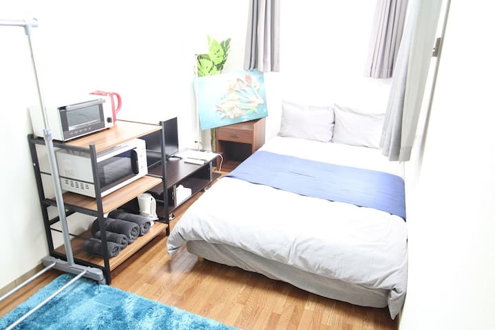Just11min walk Kyoto Sta BestAccess!!FreeWiFi#bx55
