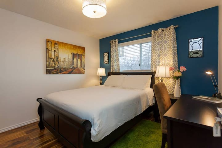 R1 Cozy Privite Room-Near Downtown/Universities