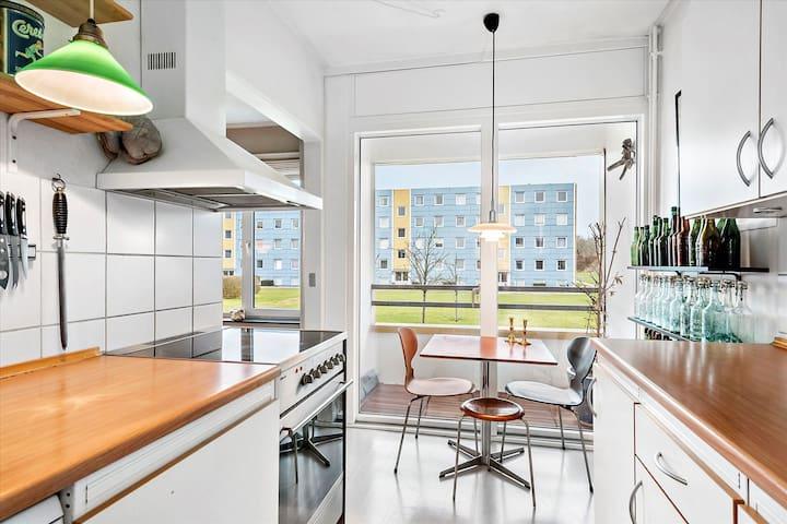 Lækker lejlighed tæt på by og natur - Brabrand - Lägenhet